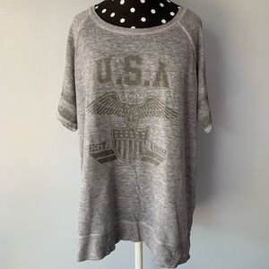 Maurices oversized top